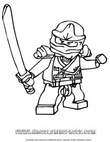 lego ninjago zane zx colouring pages