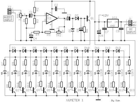 resistor gain ocl vu meter 1