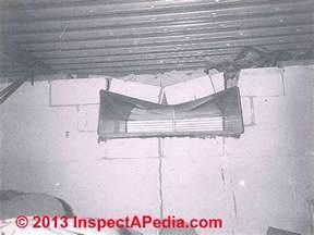 vertical cracks in basement walls vertical cracks in concrete block walls
