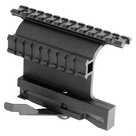 aim sports ak 47 rail side mount with release aim sports ak rail side mount picatinny with