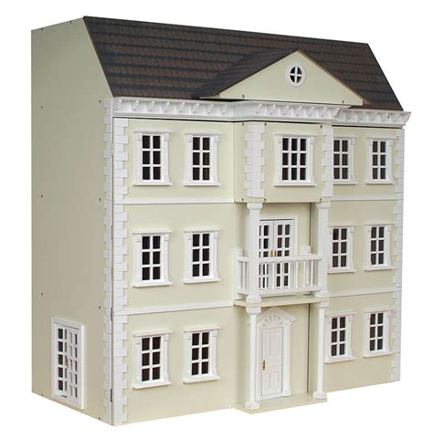 painting dolls houses mayfair dolls house exterior painted