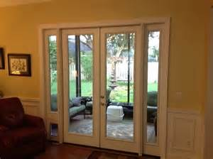 Patio Door With Doggie Door Pet Door To Patio Porch Ideas For The House Pet Flaps Patio And Rooms
