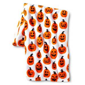 Online Kitchen Appliances Shopping - halloween pumpkin print throw