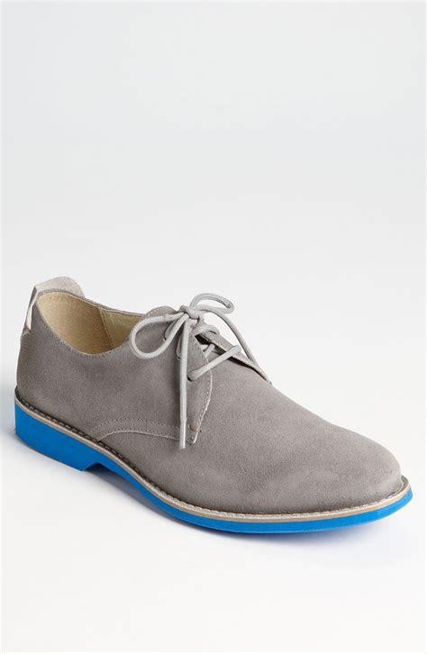 buck shoes aldo arkin buck shoe in gray for grey suede lyst