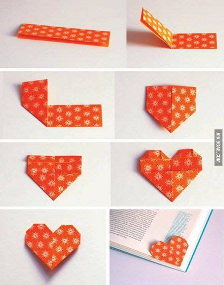 How To Make A Paper Bookmark Origami - 25 best ideas about bookmark on origami