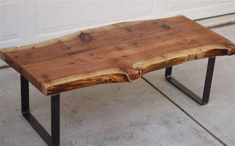 Slab Of Wood Coffee Table » Home Design 2017