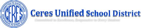Ceres Unified School District Calendar Academic Extended Day Aed High School Ceres Unified Sch