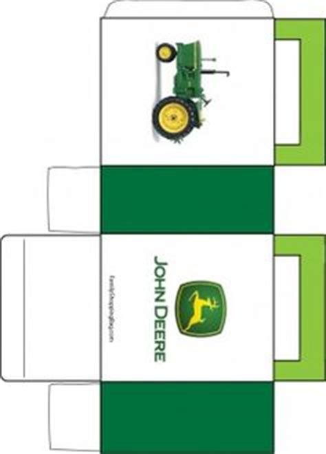 free printable john deere thank you cards john deere favor box 2 favor box printables