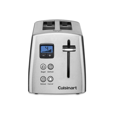 Cuisinart 2 Slice Toaster Shop Cuisinart 2 Slice Stainless Steel Toaster At Lowes