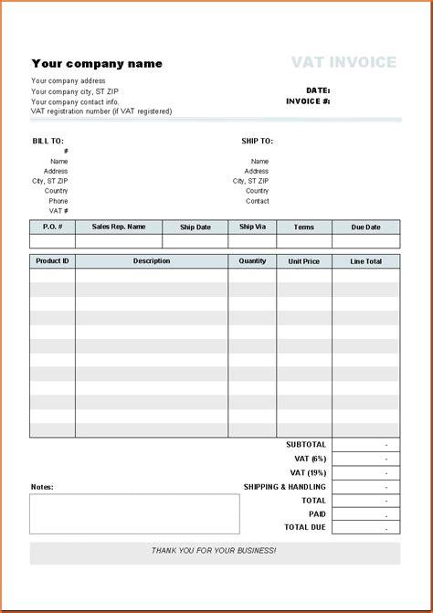 contractor invoice template xls rabitah net