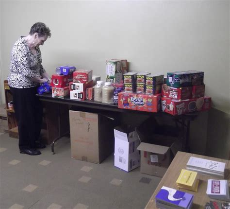 Pantry Delivery by United Methodist Church Mccamey Tx Community