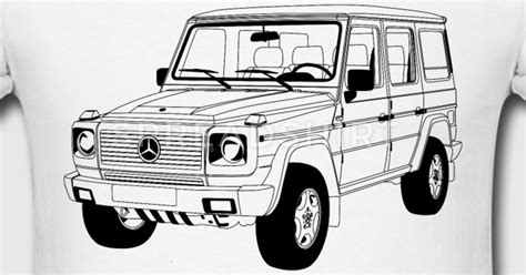 G Wagon Sketches by Mercedes W460 G T Shirt Spreadshirt