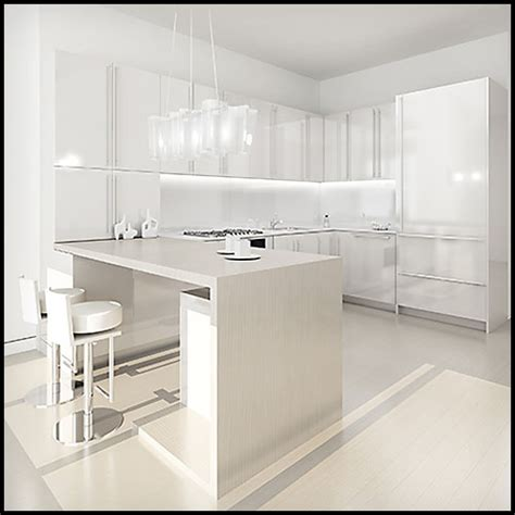 white slab kitchen cabinets slab kitchen cabinet door in solid white akc