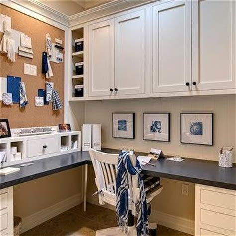 built in desk with upper cabinets office built in cabinets design decor photos pictures