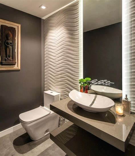 Powder Bathroom Design Ideas by Powder Room Ideas Contemporary With Lighting Ceramic