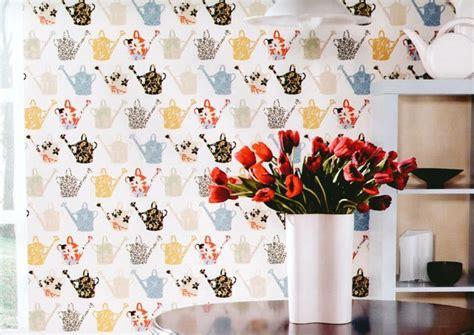 Papier Peint Cuisine Original by Papier Peint Pour Cuisine Une Touche De Joie Dans L
