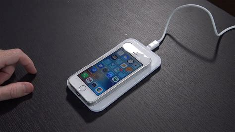 iphone se  wireless charging ossu qi charging case