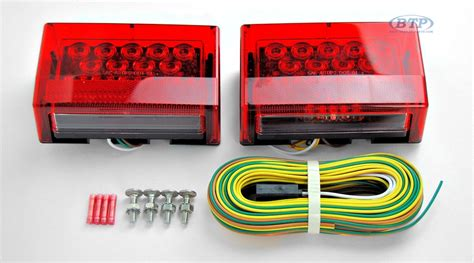 led boat trailer light kit led submersible boat trailer light kit complete