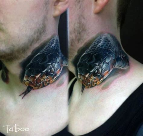 8 beautiful realistic snake tattoos tattoodo