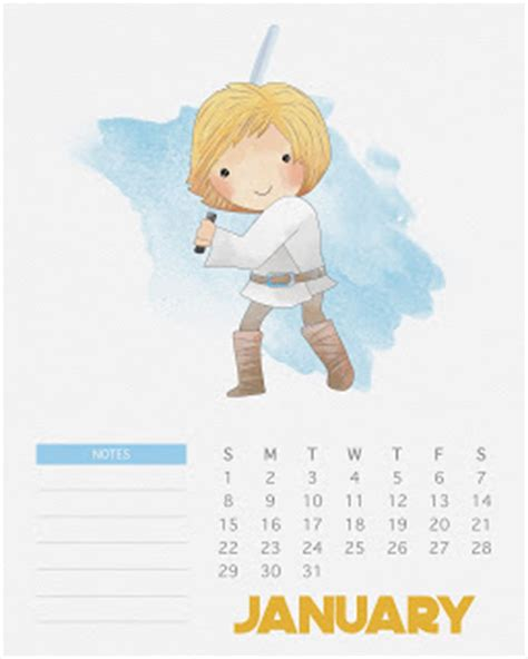 Calendario Año 2018 Chile Calendario 2017 De Wars Para Imprimir Gratis Oh My