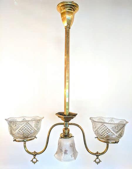 Antique Ceiling Light Fixtures Antique Combination Gas Electric Ceiling Fixture Waterglass Studios Ltd