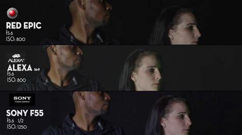 film vs red epic sony f55 vs arri alexa vs red epic part 8 skin tone test