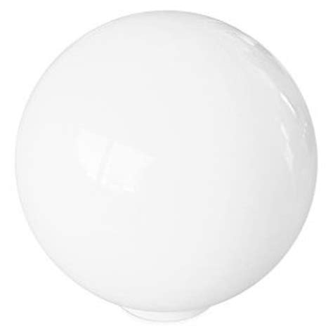 l shade wide fitting large globe opaline white glass pendant light shade