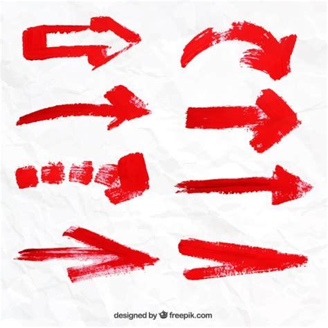 imagenes de flechas rojas cole 231 227 o seta vermelha baixar vetores premium