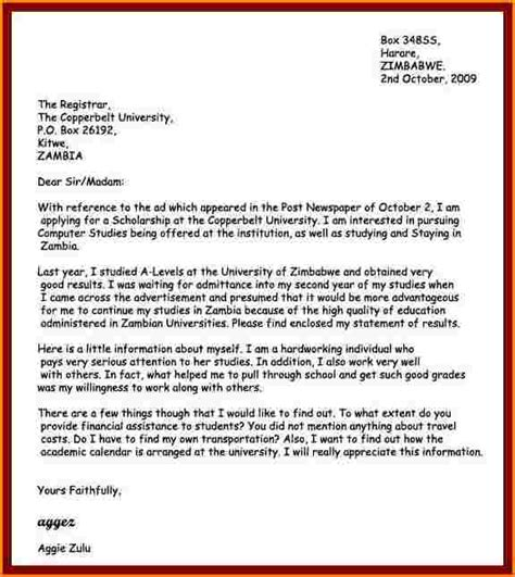 how to write a covering letter for application 8 exle on how to write an application letter