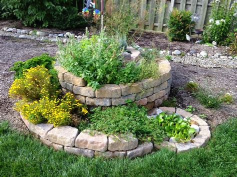 How To Build An Herb Garden | how to build a spiral herb garden spiral garden design
