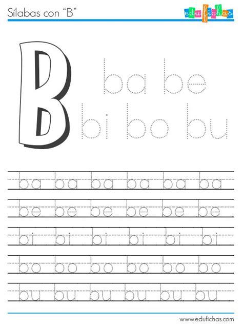 13 imprimir fichas educativas con ejercicios las letras s 237 labas con b http www edufichas com actividades