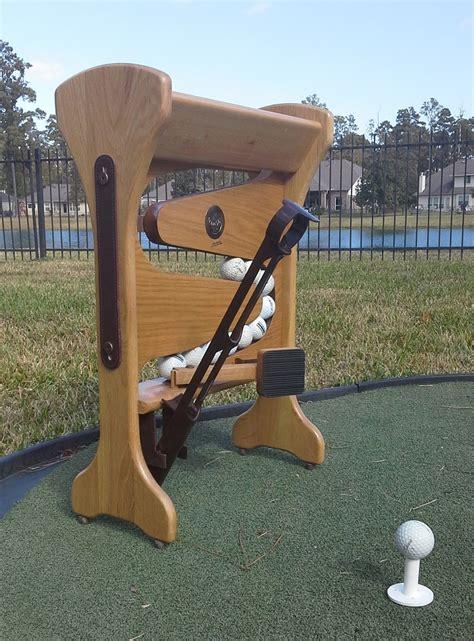 mechanical golf swing machine quick tee automatic golf ball setter dispenser