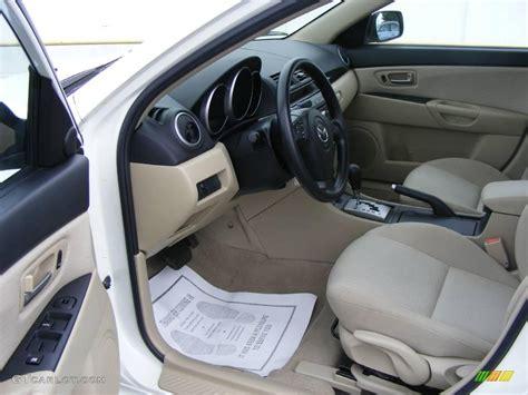 2007 rally white mazda mazda3 i sport sedan 12238432