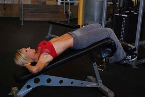 homemade decline bench decline crunch exercise guide and video