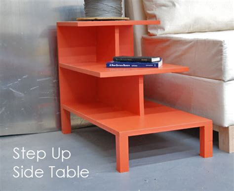 ana white step up side table diy projects build a step up side table diy テーブルを作りたいときの参考画像 サイト