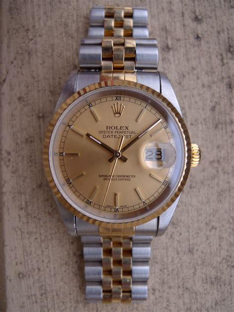 Rolex Polieren Lassen by Erledigt Rolex Datejust Ref 16233 Stahl Gold Baujahr