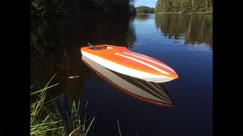 rc apache boat  zenoah  youtube