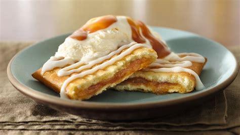 Strudel Toaster Apple Toaster Strudel Sundaes With Caramel Topping Recipe