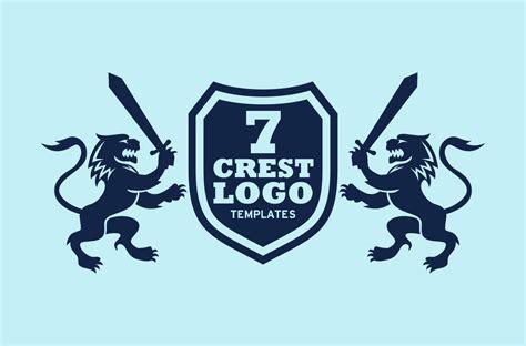 crest logo templates logo templates on creative market