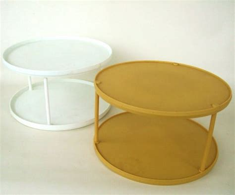 diy carousel spice rack plastic lazy susan spice carousel 70s 80s kitchen organizer unmarked or rubbermaid spice racks