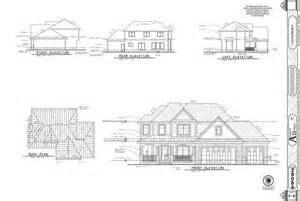 house with floor plans and elevations elevations the new architect