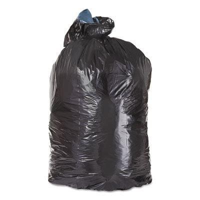 Polybag Polibag 40 X 40 ml4046 poly bags 40 x 46 40 45gal black low density 1 6mil flat folded 100486 100