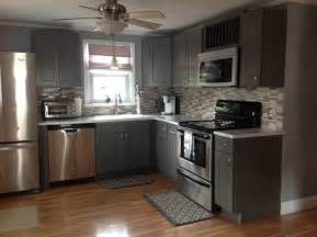 grey shaker kitchen cabinets modern kitchen