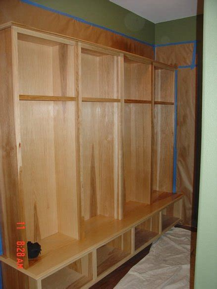 hallway lockers for home hickory back entry kids lockers by tag lumberjocks com