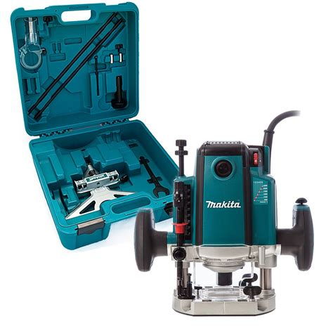 makita rp2301fcxk 1 2 plunge router fine adjustment