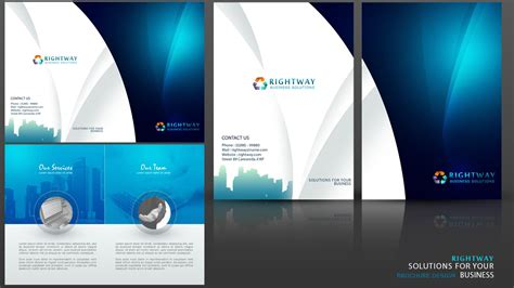 create a business brochure photoshop tutorial