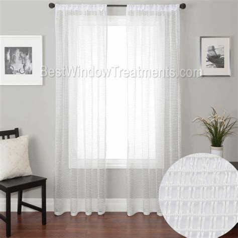 rockland window covering rockland fish net curtain drapery panels