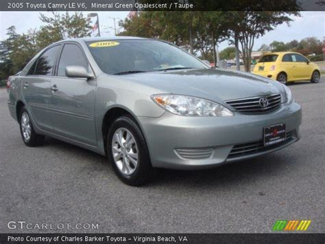 2005 Toyota Camry Le V6 Mineral Green Opalescent 2005 Toyota Camry Le V6 Taupe