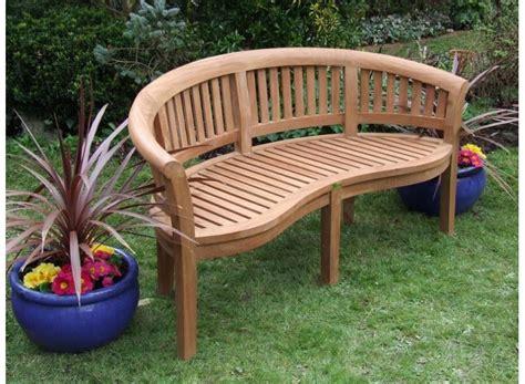 banana benches teak garden bench banana peanut bench 160cm
