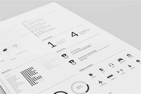 Resume Template Fernando Baez Zip by Gallery
